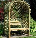 Arbour Benches